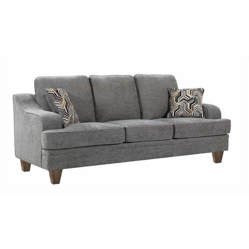 Outstanding 506671 Coaster Furniture Burbank Sofa Uwap Interior Chair Design Uwaporg