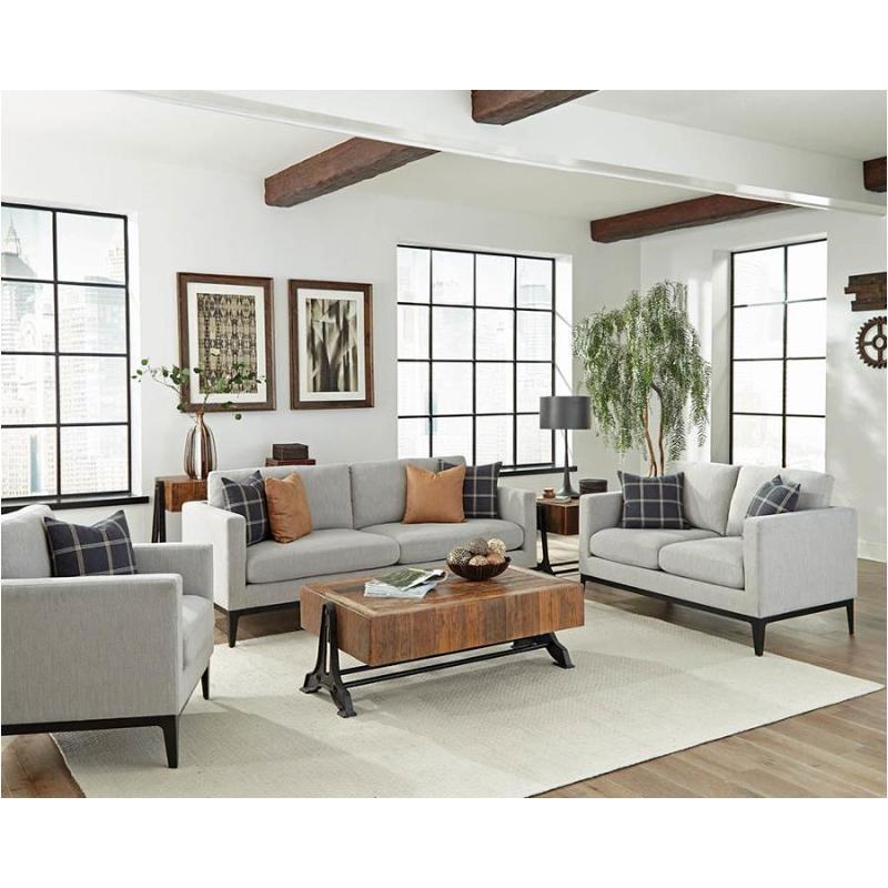Admirable 508482 Coaster Furniture Asherton Loveseat Short Links Chair Design For Home Short Linksinfo