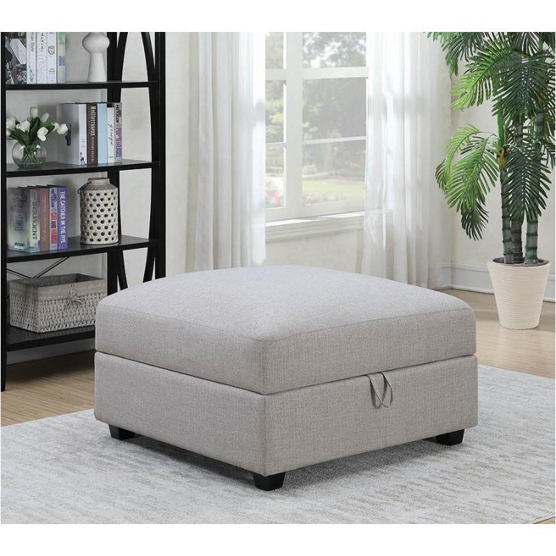 551223 Coaster Furniture Charlotte Living Room Storage Ottoman