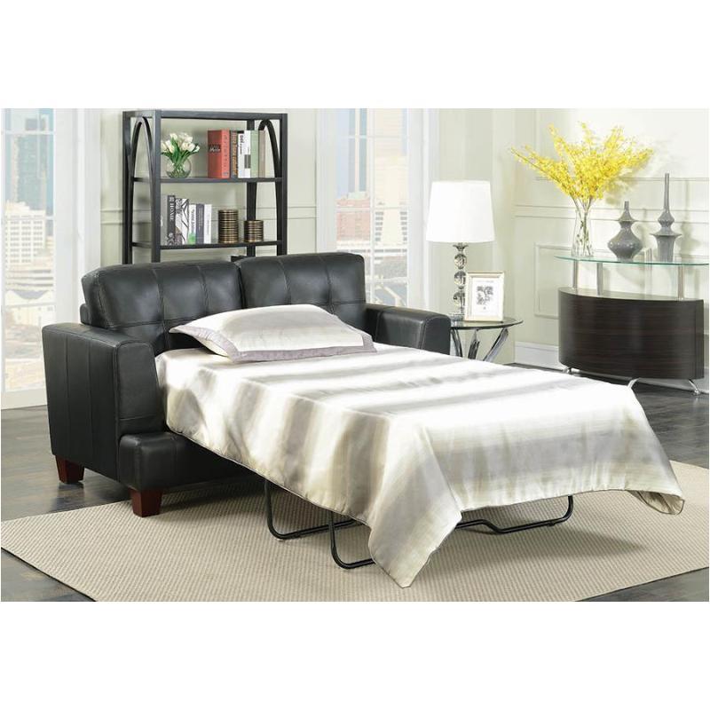 Strange 501689 Coaster Furniture Samuel Black Sleeper Pabps2019 Chair Design Images Pabps2019Com