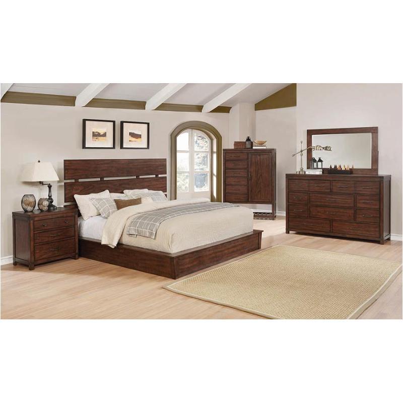 eastern king bed 204471ke Coaster Furniture Artesia Bedroom Bed