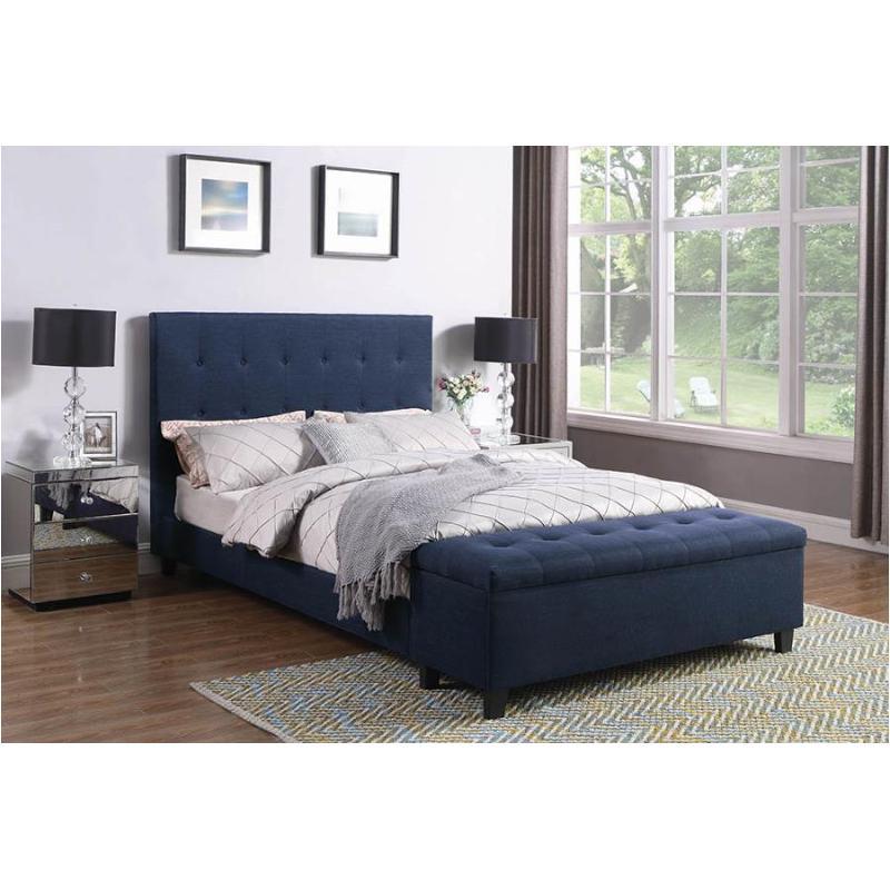 302334t Coaster Furniture Halpert - Blue Twin Bed