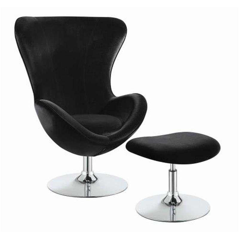 Superb 903120 Coaster Furniture Chair With Ottoman Ncnpc Chair Design For Home Ncnpcorg