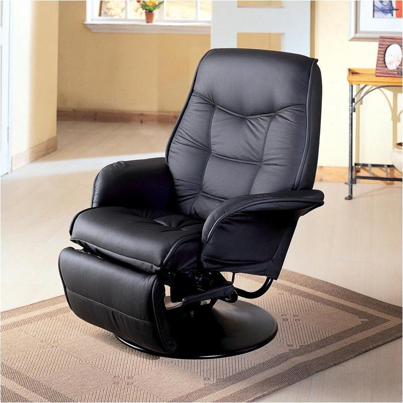 Remarkable 7501 Coaster Furniture Berri Black Recliner Black Machost Co Dining Chair Design Ideas Machostcouk