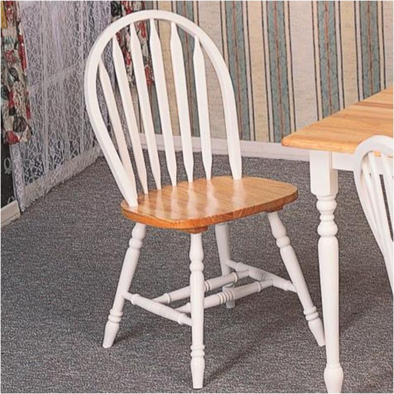 4133 Coaster Furniture Damen   White/natural Chair