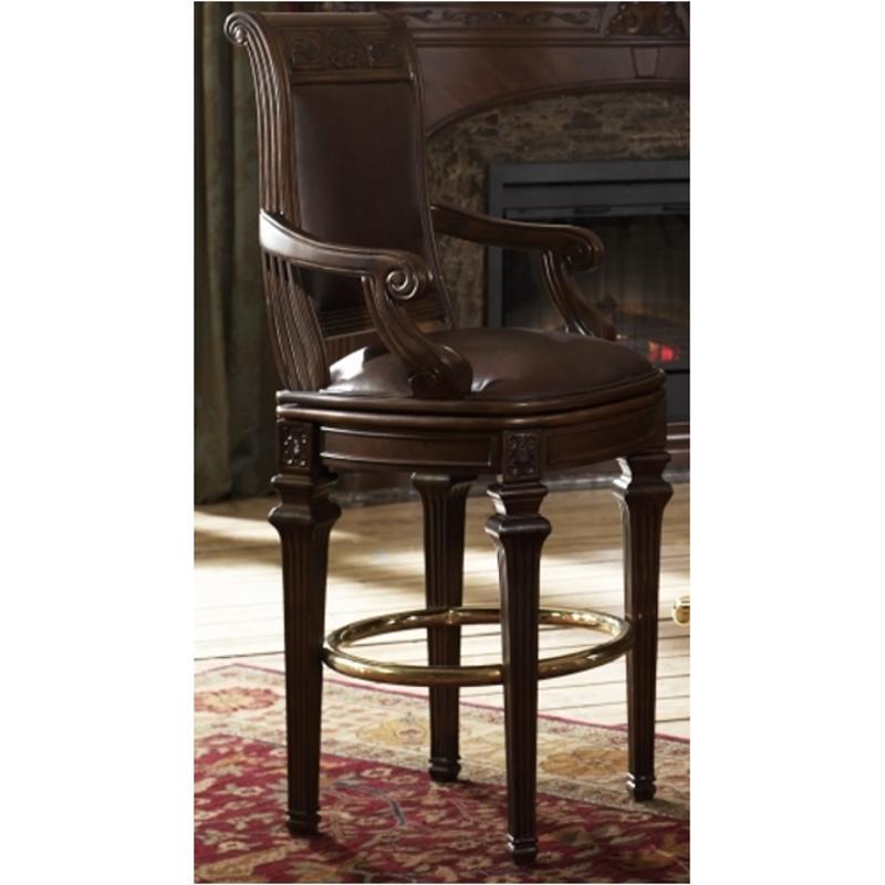 58504 44 Aico Furniture Villagio Accent Swivel Bar Stool