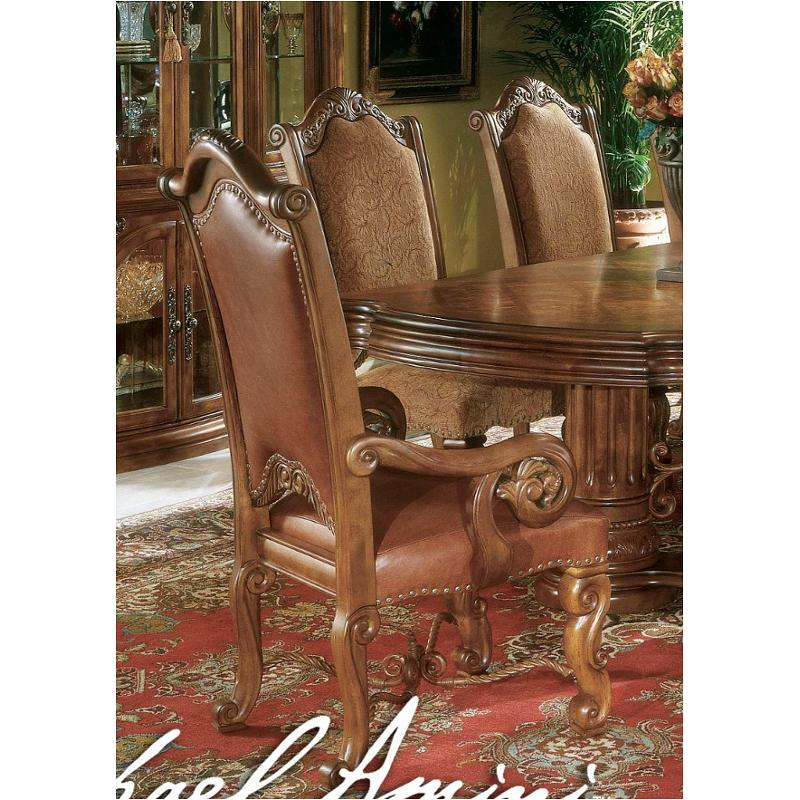 53444 24 Aico Furniture Monte Carlo Pecan Dining Room Dining Chair