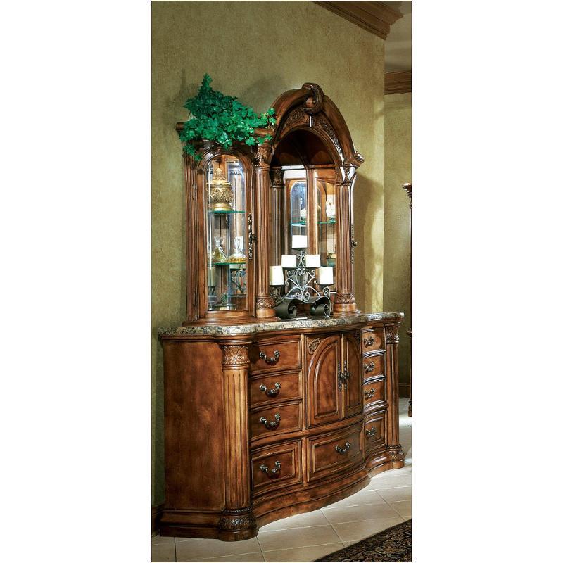 53050 24 Aico Furniture Monte Carlo Pecan Dresser With
