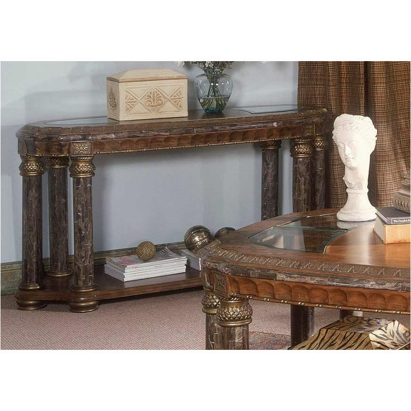 56203 25 Aico Furniture Torino Living Room Sofa Table