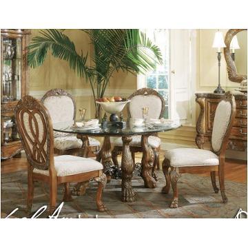 52001 23 Aico Furniture Paradisio Single Pedestal Table