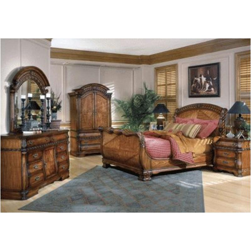 31011-42 aico furniture royal oak bedroom queen sleigh headboard