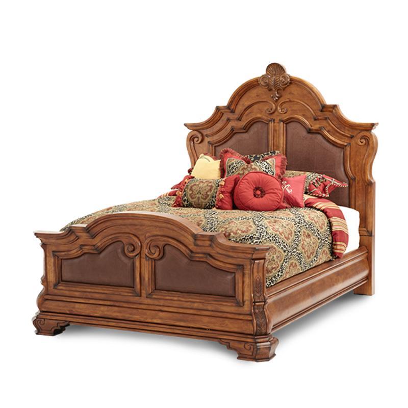 34014-26 Aico Furniture Tuscano Eastern King Mansion Bed