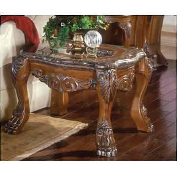60202 23 Aico Furniture Eden Living Room End Table Amaretto