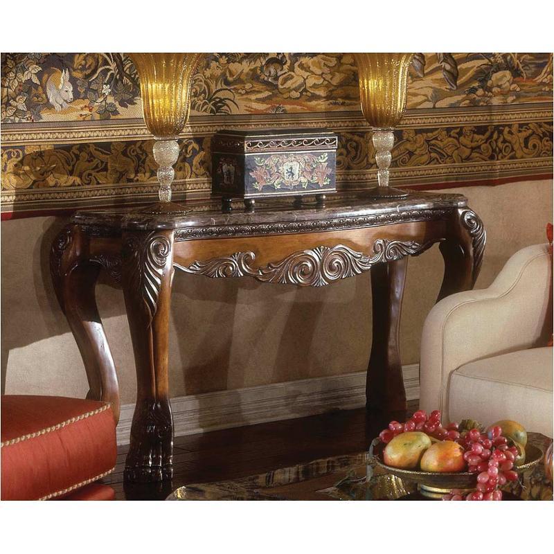 60203-23 Aico Furniture Eden Living Room Sofa Table - Amaretto