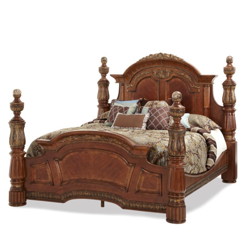 72015t 55 Aico Furniture Villa Valencia Bedroom Bed