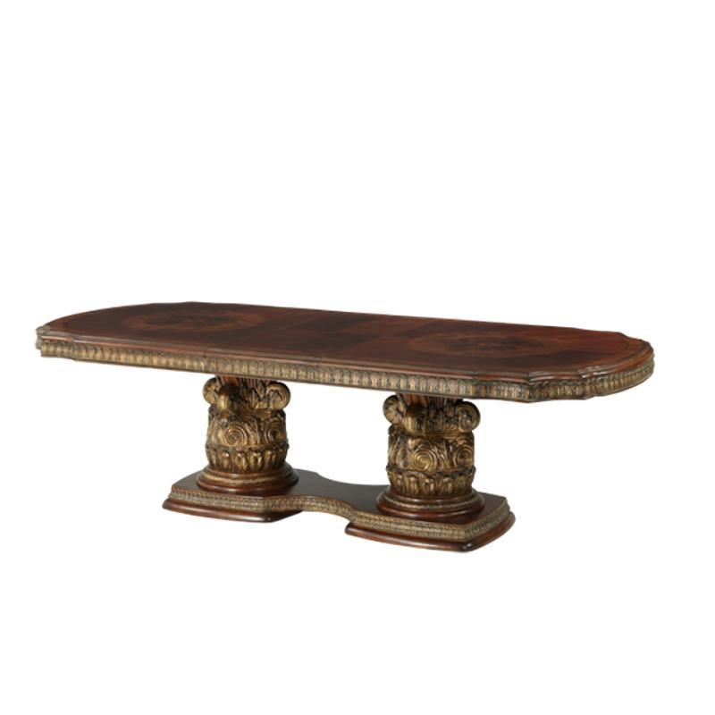 72002t 55 Aico Furniture Villa Valencia Rectangular Dining Table