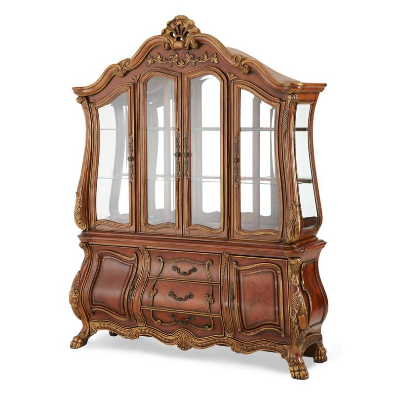 75006 39 Aico Furniture Chateau Beauvais Buffet Noble Bark