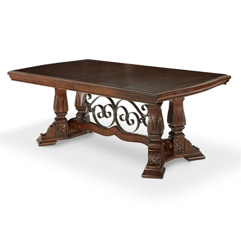 70002t 54 Aico Furniture Windsor Court Dining Room Dining Table