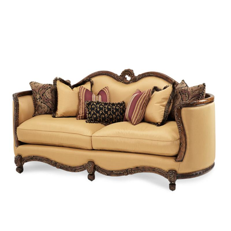 71815 Brgld 35 Aico Furniture Palais Royale Living Room Sofa