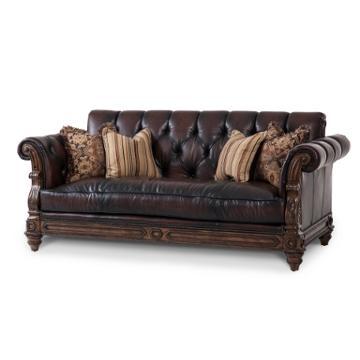 37915 Dkbrn 58 Aico Furniture Vizcaya Living Room Sofa