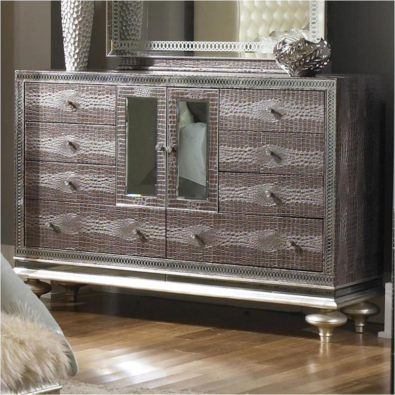 03050 33 Aico Furniture Hollywood Swank Bedroom Dresser