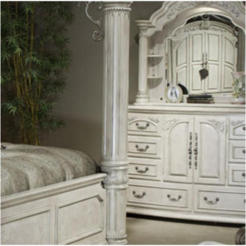 N53050 03 Aico Furniture Monte Carlo Ii Dresser Silver Pearl