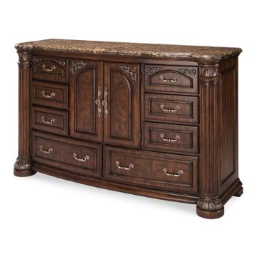N53050 46 Aico Furniture Monte Carlo Ii Bedroom Dresser Cafe Noir