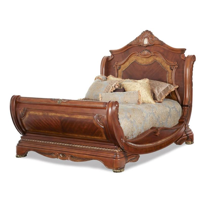 N65016 28 Aico Furniture Cortina California King Sleigh Bed