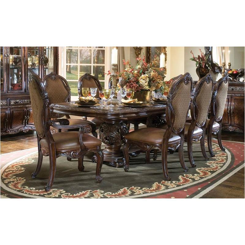 N76002t 57 Aico Furniture Essex Manor Rectangular Dining Table