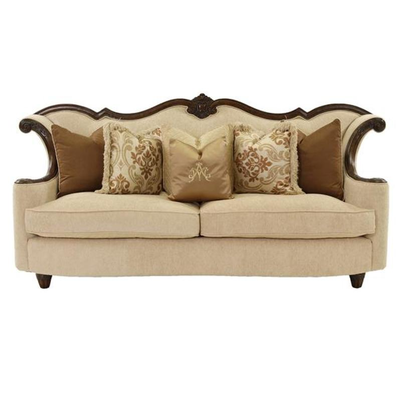 Wood Trim Sofas Furniture 3 Piece Paris Wood Trim Fabric
