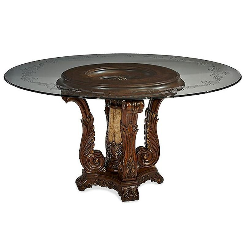 61001 29 vg aico furniture victoria palace dinette table for Dining room tables victoria