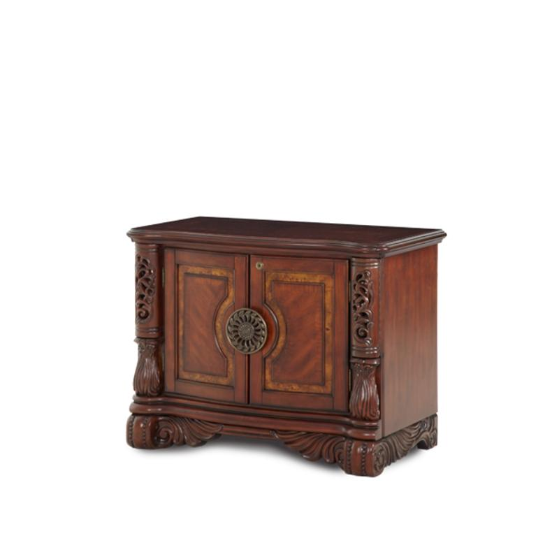 N59212 47 Aico Furniture Excelsior Small Double Door Cabinet