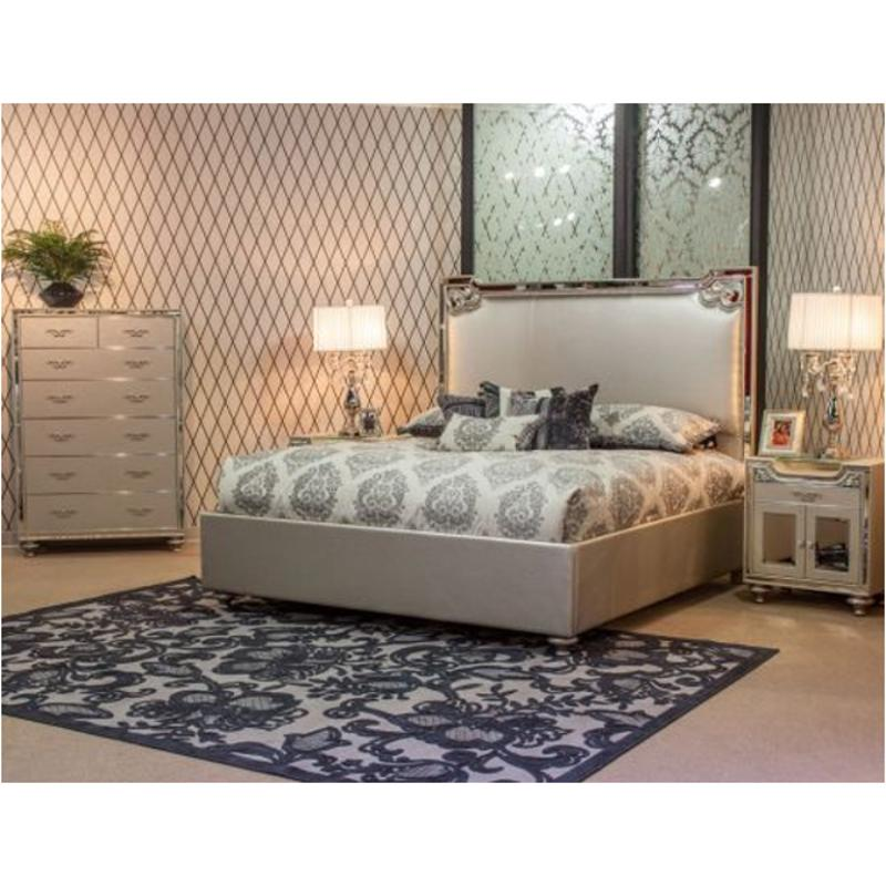 Beau 9002014 201 Aico Furniture Bel Air Park Bedroom Bed