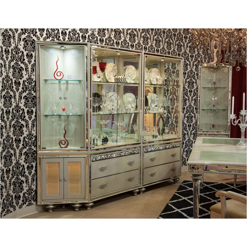 9002405 201 Aico Furniture Bel Air Park Dining Room Curio
