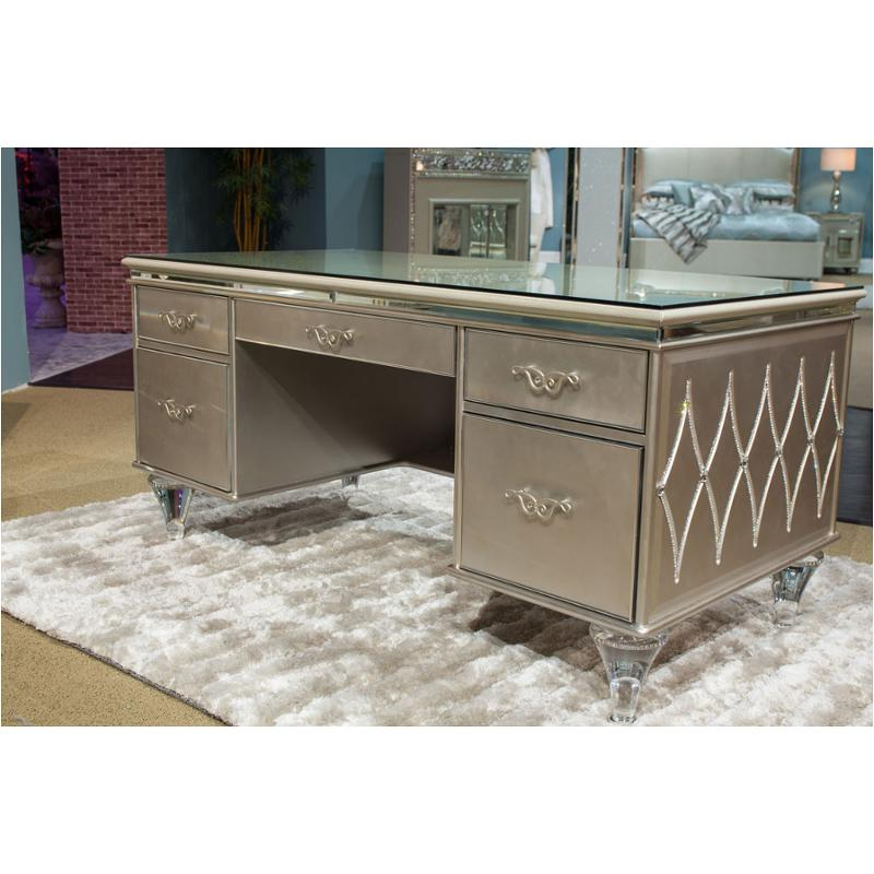 9002207 201 Aico Furniture Bel Air Park Home Office Desk