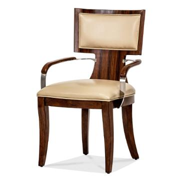 10004 32 Aico Furniture Cloche Dining Room Dining Chair Arm Chair
