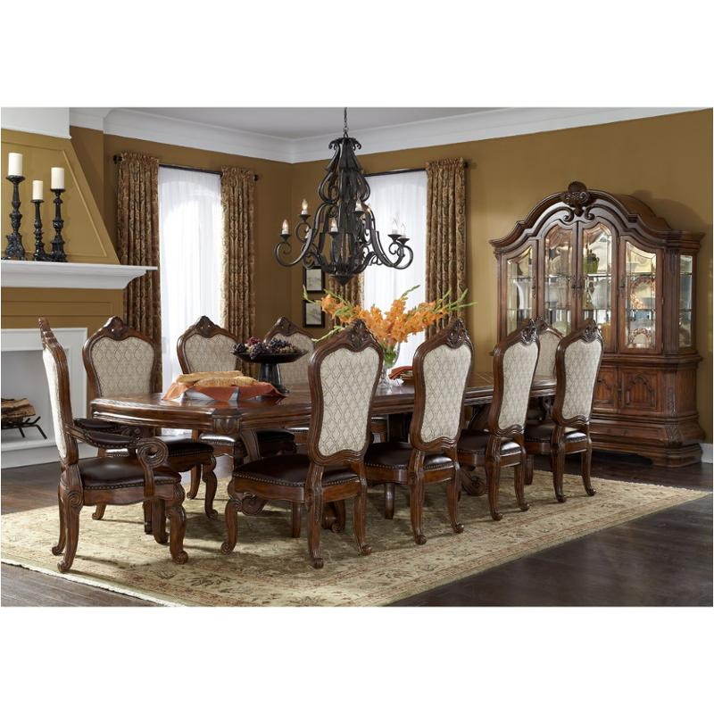 34002t 34 Aico Furniture Rectangular Dining Table Melange