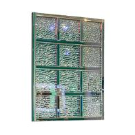 Fs Mntrl262 Aico Furniture Montreal Rectangular Crystal Wall Decor