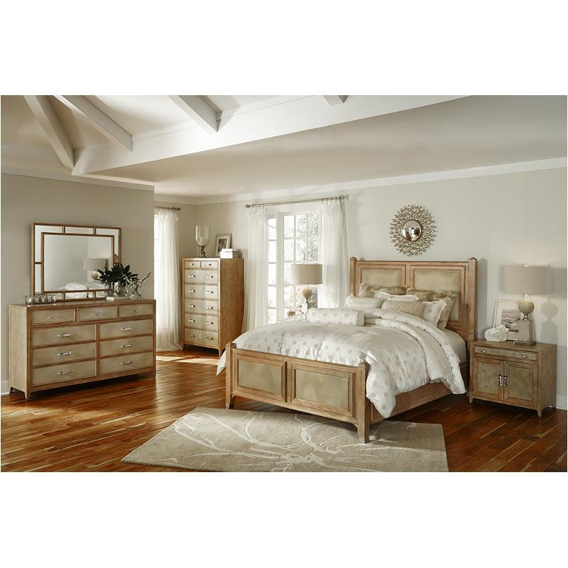 80010 102 Aico Furniture Biscayne West Sand Bedroom Bed