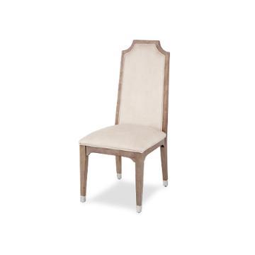 80003 200 Aico Furniture Biscayne West Haze Side Chair Haze