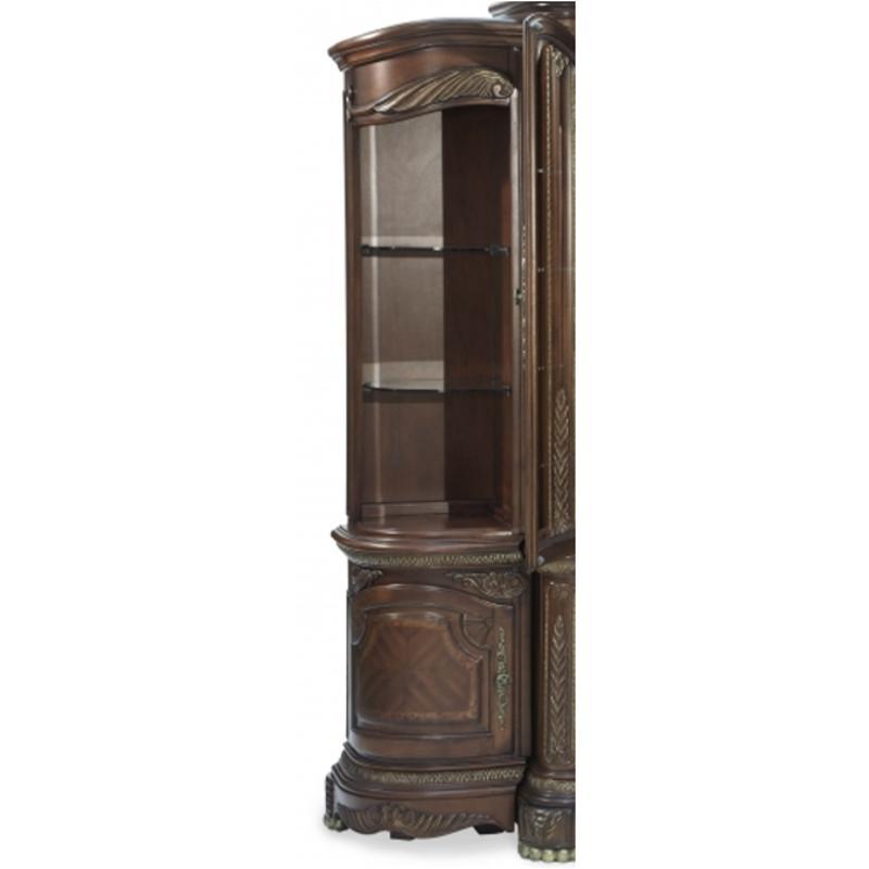 Nf65093 28 Aico Furniture Cortina Left Bookcase