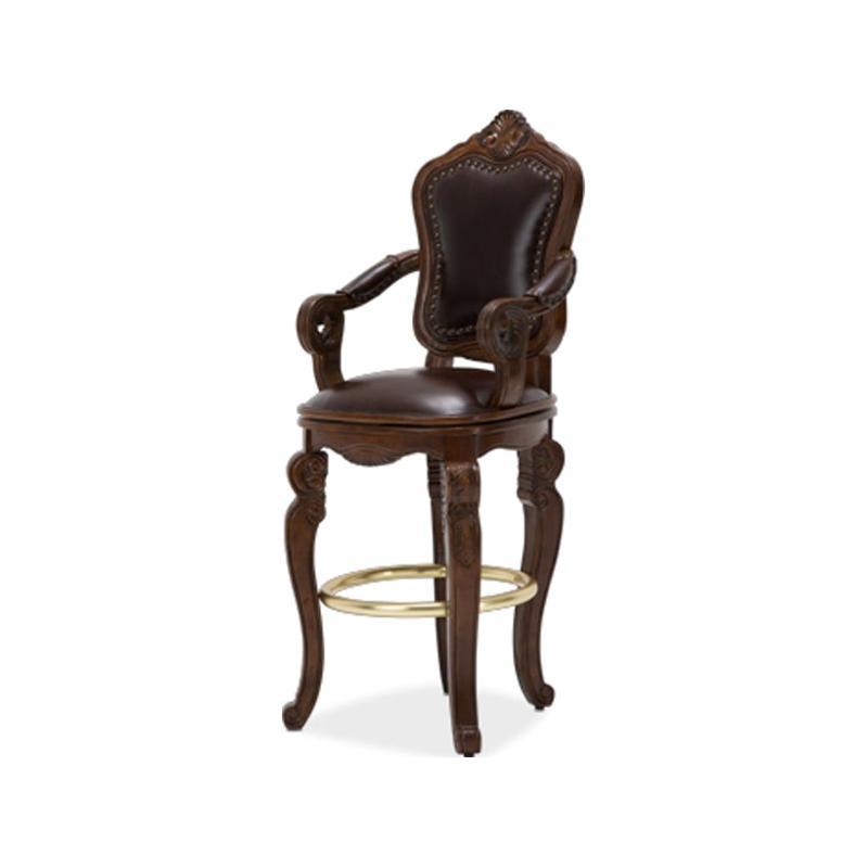 34504 34 Aico Furniture Tuscano Melange Swivel Barstool