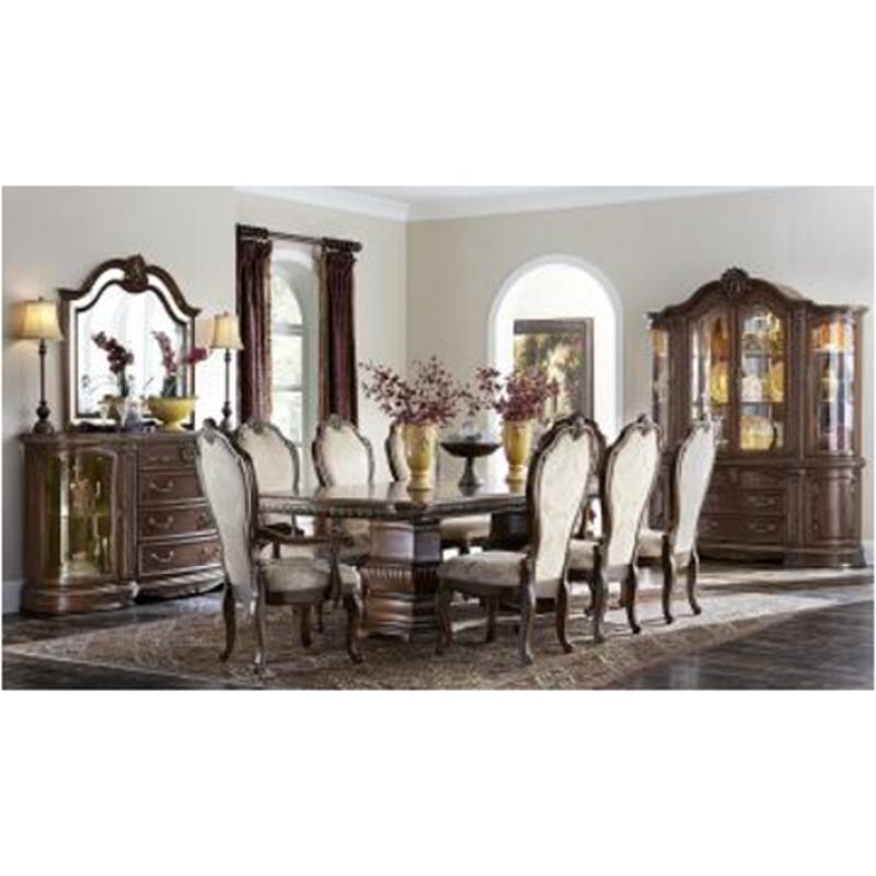 9051002t 202 Aico Furniture Bella Veneto Rectangular Dining Table