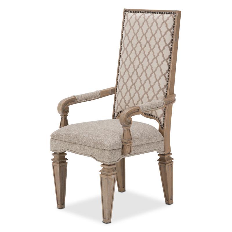 9080004 100 Aico Furniture Tangier Coast Arm Chair