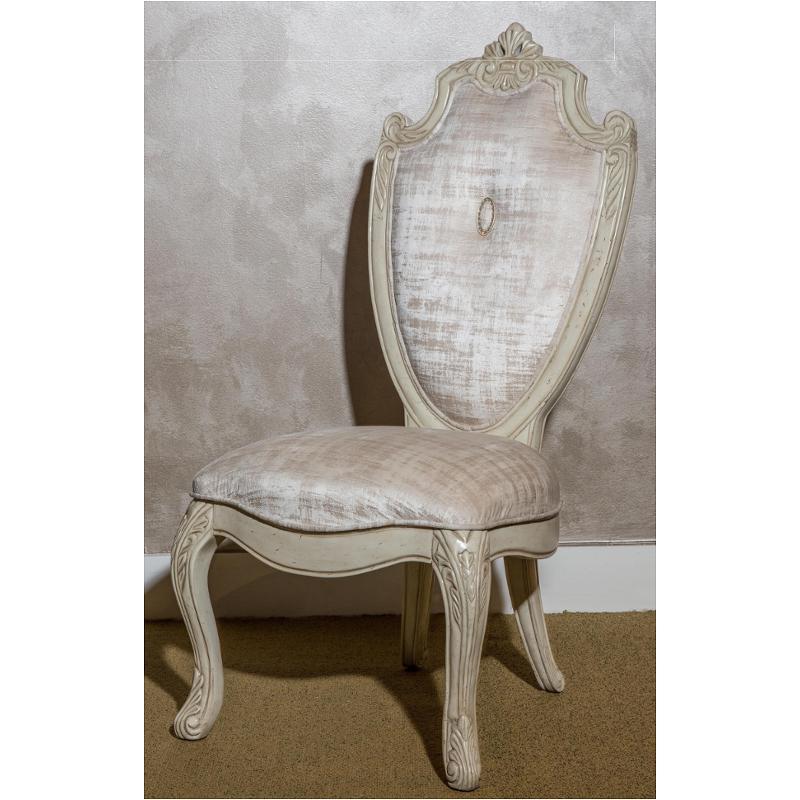 Pleasant 9053003 115 Aico Furniture Villa Di Como Side Chair Moonlight Andrewgaddart Wooden Chair Designs For Living Room Andrewgaddartcom
