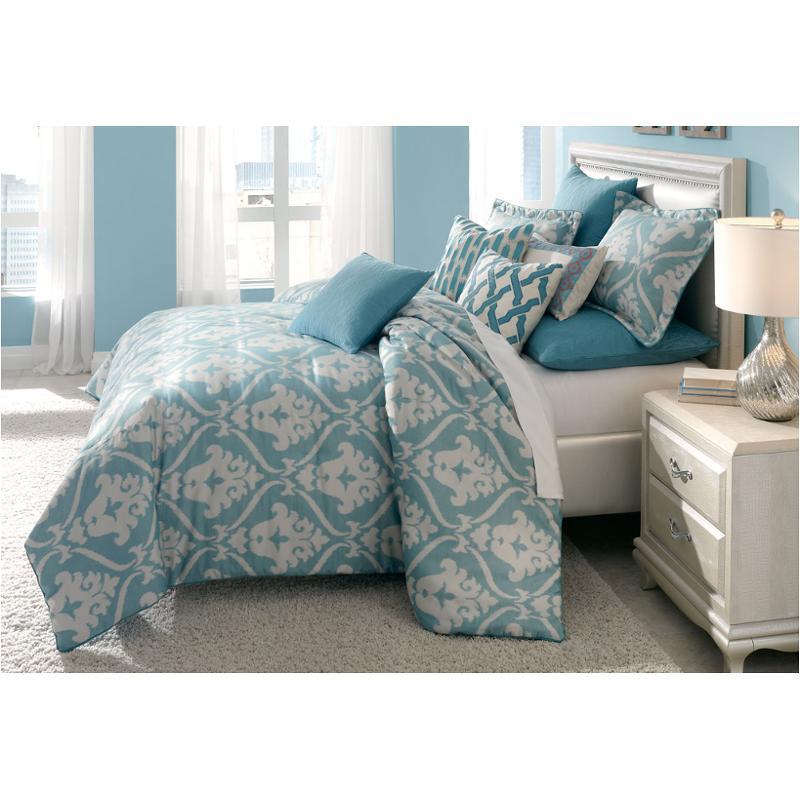 bcs qs09 tucson tur aico furniture tucson comforter. Black Bedroom Furniture Sets. Home Design Ideas