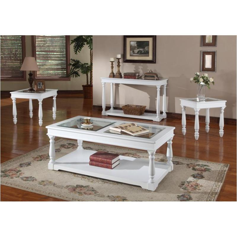 Tpal 00 Parker House Furniture Premier Alpine Cocktail Table With Casters
