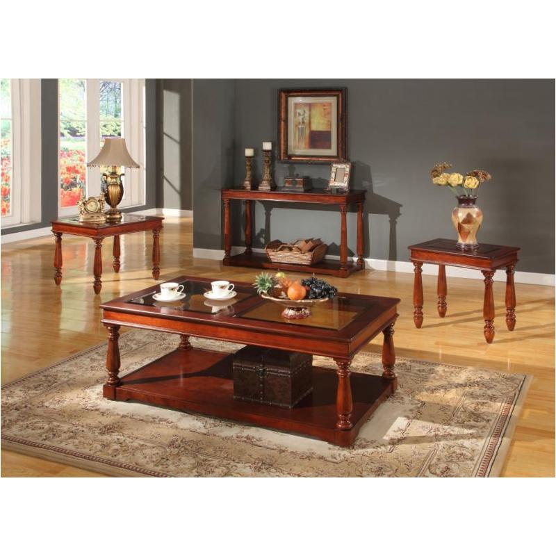 Tpan 00 Parker House Furniture Premier Andrews Tail Table With Casters
