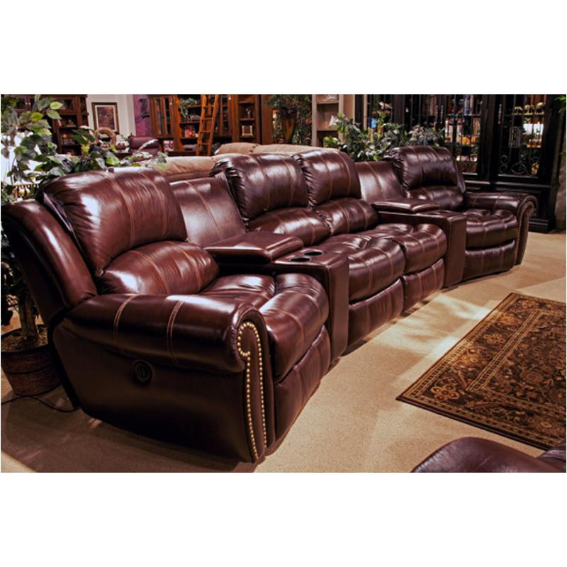 Mpos810p Co Parker House Furniture Poseidon   Cocoa Armless Recliner Power    Cocoa