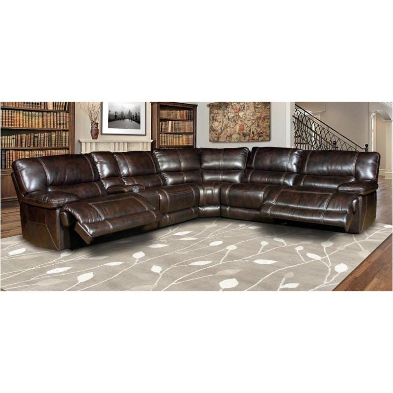 Mpeg811rph Nu Parker House Furniture Pegasus Nutmeg Living Room Sectional